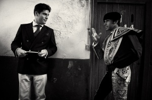 Alexander Fiske-Harrison and Cayetano Rivera Ordóñez (Photo: Nicolas Haro)