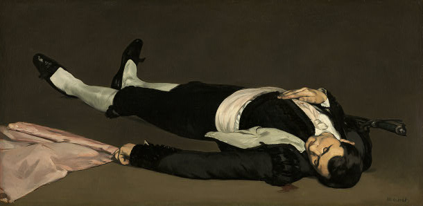 Manet, The Dead Toreador