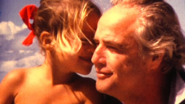 Brando and daughter