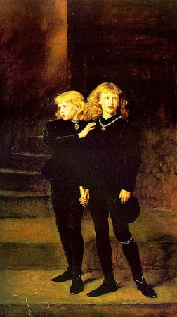 The Two Princes Edward and Richard in the Tower, 1483 by Sir John Everett Millais in 1878