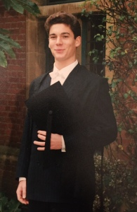 Me, matriculation day, October 1994