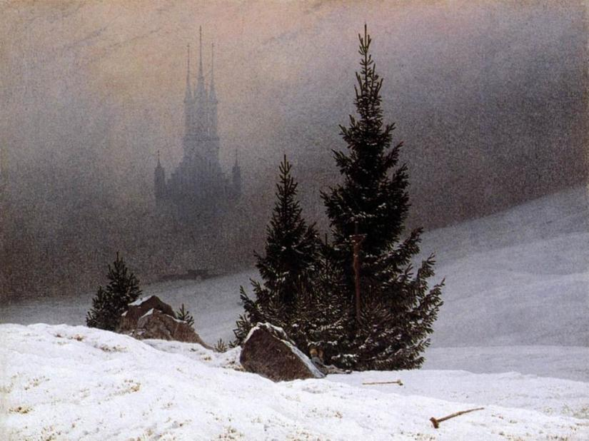 Caspar David Friedrich - Winter Landscape (1811)